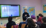 Bilgi Evi öğrencilerine LGS'yle İlgili Rehberlik
