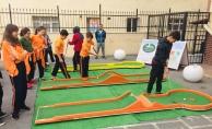 Okullarda Mini Golf Festivali Başladı