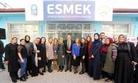 Eyüpsultan Mesleki Eğitim Kursları (ESMEK) Eyüpsultan Merkez Şubesi açıldı.
