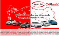 Zeplin Car Rental Göktürk ve Kemerburgaz'da Hizmet Veriyor