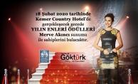 Göktürk Dergisi Yılın Enleri Ödül Töreni Kemer Country Hotel'de Gerçekleşecek