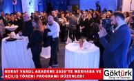 Koray Varol Akademi 2020'ye Merhaba ve Açılış Töreni Programı Düzenledi