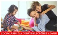 Çocuklarınızla Birlikte Evde Oynanabilecek 5 Farklı Oyun