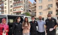 Genç Aylin'e Polislerden Doğum Günü Sürprizi
