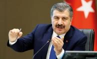 Sağlık Bakanı Fahrettin Koca, 'Türkiye Günlük Koronavirüs Tablosu'nu paylaştı.