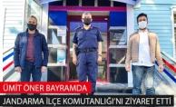 Ümit Öner Bayramda Eyüpsultan İlçe Jandarma Komutanlığı'nı Ziyaret Etti