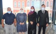 Türk Kızılay Eyüpsultan'dan Şiddete Hayır Ziyareti