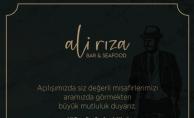 Bu hafta Göktürk'te yeni bir mekan açılıyor ;  Ali Rıza Bar&Seafood