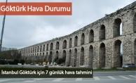 İstanbul Göktürk İçin 7 Günlük Hava Tahmini