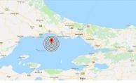 Son dakika... Marmara Denizi'nde 3.1'lik deprem