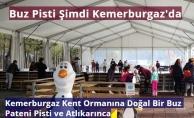 Kemerburgaz Doğal Buz Pisti ve Atlıkarınca Sevenlerini Bekliyor
