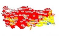 Türkiye koronavirüs vaka haritası güncellendi! Mavi il kalmadı, İstanbul'da kâbus gibi artış