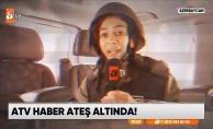 Özlem Aktay ve ekip arkadaşları Azerbaycan'daki olayları anbean aktardı!