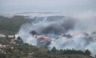 Son dakika: Hatay'da orman yangını! Bazı evler tahliye edilirken, Bodrumda alevler yeniden yükseldi.