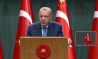 Erdoğan duyurdu: Yüz yüze eğitim ve konser, tiyatro, sinema, seyahat gibi toplu faaliyetlerde PCR testi zorunlu