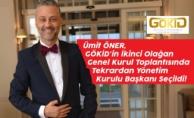Ümit Öner, GÖKİD#039;in İkinci Olağan Genel Kurul Toplantısında Tekrardan Yönetim Kurulu Başkanı Seçildi!
