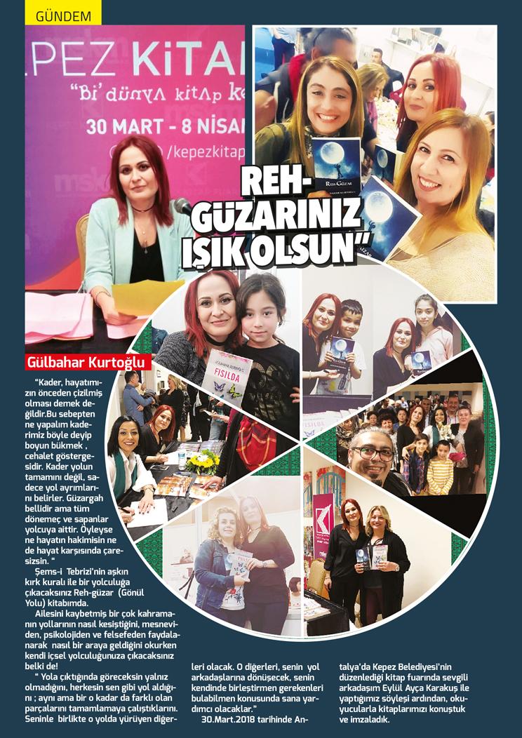 Göktürk Dergisi Nisan Sayısı Gülbahar Kurtoğlu