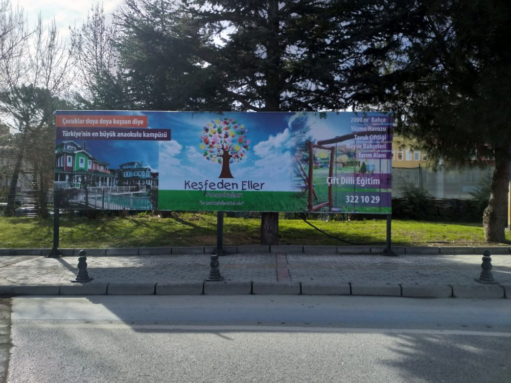 Göktürk Billboard Kiralama - İkili Billboard