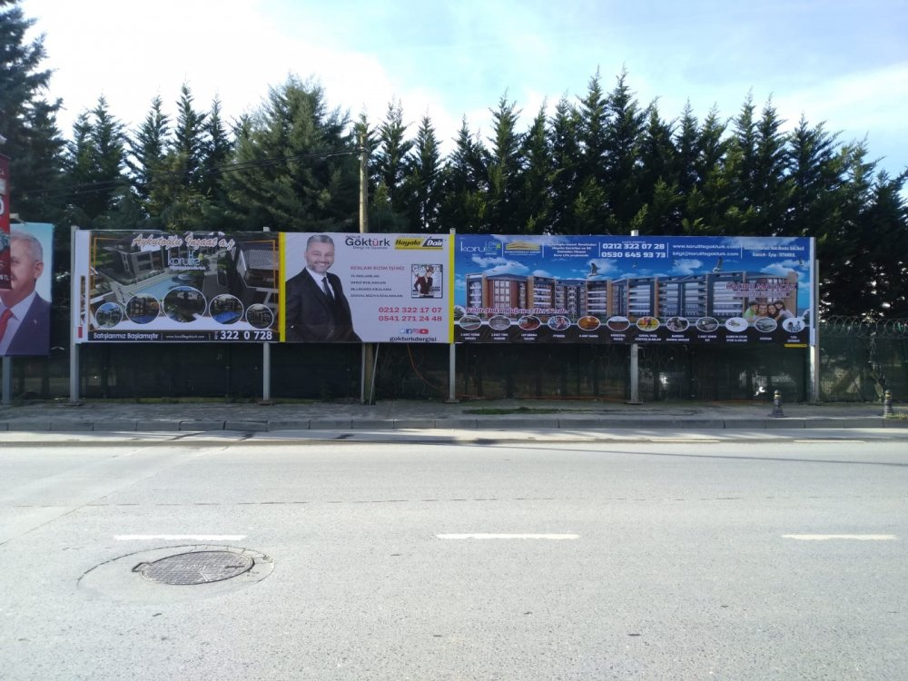 Göktürk Billboard Kiralama - Quadro Billboard