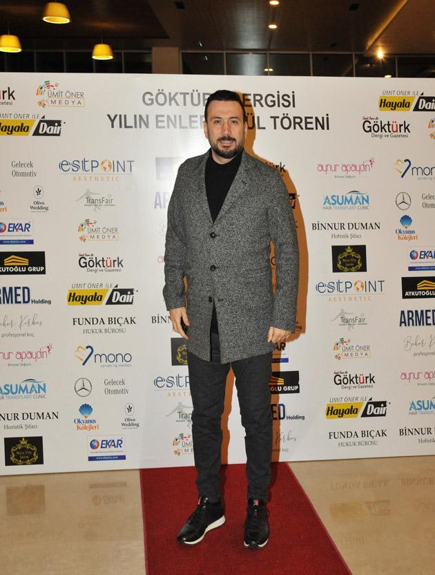 Göktürk Dergisi Yılın Enleri Ödül Töreni Ertem Şener