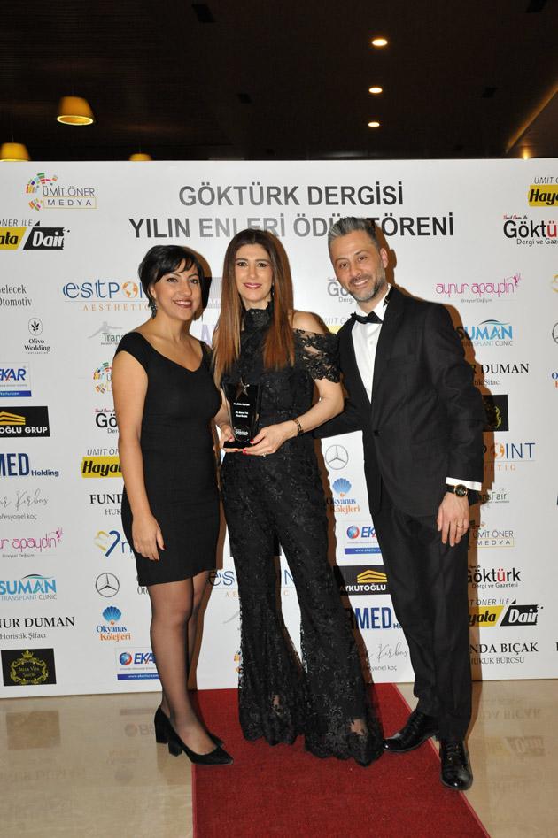 Göktürk Dergisi Yılın Enleri Ödül Töreni Nadide Sultan