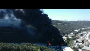 Hasdal'da Yangın